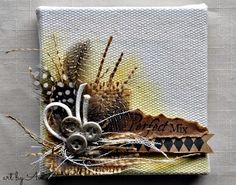 The Perfect Mix Mini Canvas - Cottage Life: Canvas Corp - organic and natural #tatteredangels #canvashomebasics #clearsnap