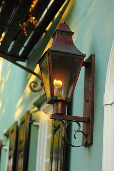Saw these Antique Gas Lamps in New Orleans on peoples porches and fell ...