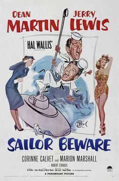 Sailor Beware is the fifth film that Dean Martin and Jerry Lewis made together. Description from 2010amovieaday.wordpress.com. I searched for this on bing.com/images