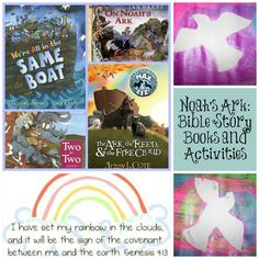 Noah's Ark bible story: Books and Activities