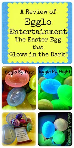 Egglo Entertainment: A Review of the Easter Egg that GLOWS!