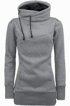 Grey Comfy Hoodie- follow link in comments