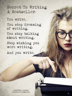 This should be the inspiration for ALL Writers