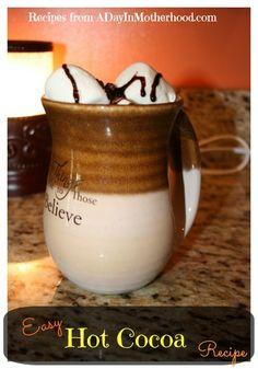 Skinny Hot Cocoa Recipe | Yummy - Drinks | Pinterest | Hot Cocoa ...