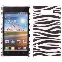 Custodia LG Optimus L7 - Zebra  € 4,99