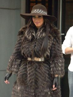 "Kim Kardashian Defends 'Fur Hag' Ways on ""Today Show"""