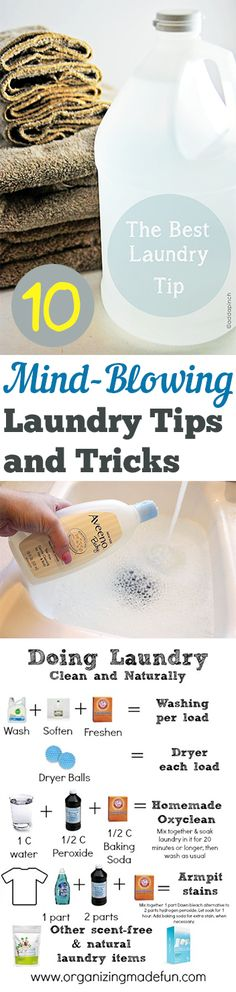10 Mind-Blowing Laundry Tips and Tricks