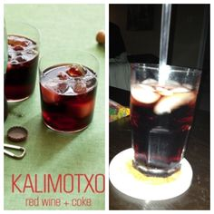 Kalimotxo- 50/50 cheap red wine and Coke. Also good with Dr Pepper ...
