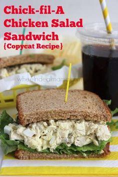 ... Pinterest | Chicken Salad Sandwiches, Chicken Strips and Honey Mustard