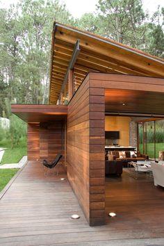 modern cabin?