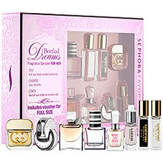 Sephora Favorites - Bottled Dreams Fragrance Sampler For Her #sephora