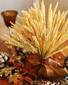 wheat bouquet