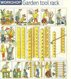 easy tool rack