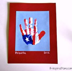 America! Home of the Free Week: Thinking this could be good start for our Friday the 5th craft. We will be reflecting on the day before and appreciating the veterans. I like the handprint,  but plan on going one step further by cutting them out and stringing together a thankful banner to hang at our local library or post office