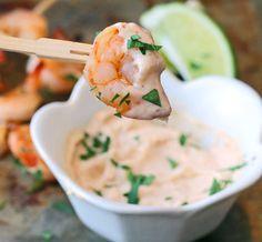 Roasted Shrimp with Chipotle Aioli