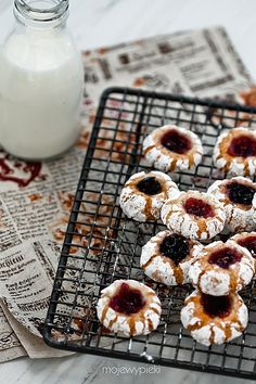 Italian Almond-Blood Orange Cookies Recipe — Dishmaps