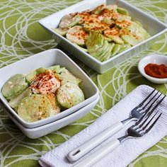 Salad heaven - cucumber on Pinterest | Cucumber Salad, Radish Salad ...