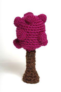 Amigurumi tree crochet