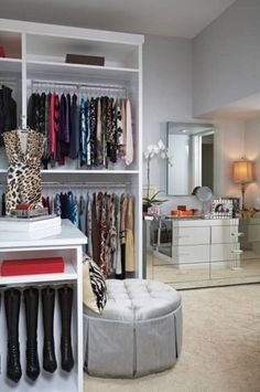 Practical Walk In Closet Organizer