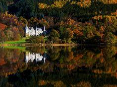 Loch Lomond and the Trossachs National Park, Scotland.