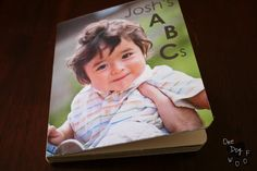 DIY, Make your own ABC board book using family photos