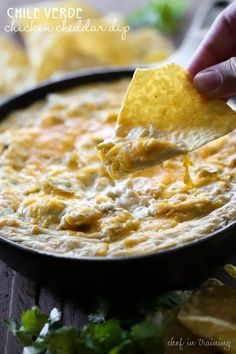 Spicy Chicken and Chile Taco Dip | Dips | Pinterest | Taco Dip, Chile ...