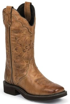 Justin Gypsy Cowgirl Boots - Square Toe - Sheplers