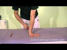 Estiramiento de los músculos flexores del antebrazo.