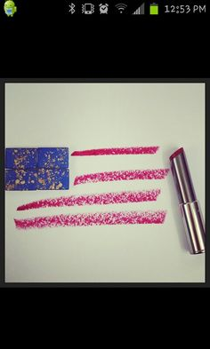 4th of july text art