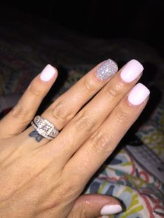 ahhhhh in love...next color i will get!!! White SNS nails