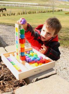 Such a great outdoor activitiy for preschoolers - An Outdoor Bead Sequencing Scavenger Hunt • Melissa & Doug Blog