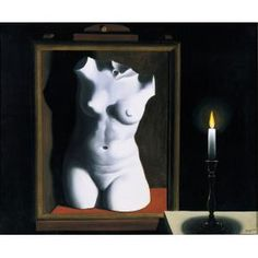 René Magritte, The Light of Coincidences, 1933, oil on canvas, Dallas Museum of Art, gift of Mr. and Mrs. Jake L. Hamon