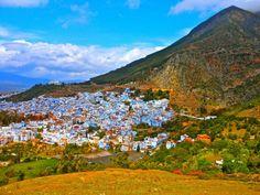 Chefchouen, Morocco. CHECK!