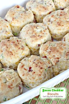 "Cheddar-Thyme Flaky Biscuits | ""By far the best cheddar biscuit recipe ..."