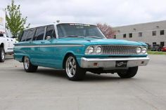 1963 Ford Fairlane Ranch Wagon