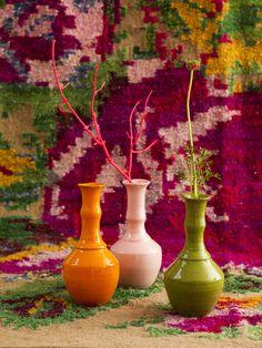 RICE ceramic vases