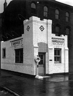 The Original White Castle in Chicago - 1923
