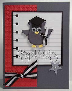 Love this simple graduation card