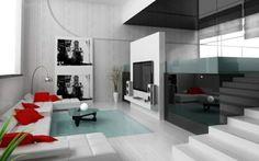 wandgestaltung streifen ideen ~ moderne inspiration ... - Wohnzimmergestaltung Grn