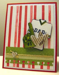 K Jones Kinsale CARDS-Sports on Pinterest | Stamp Sets, Pennant Flags and Cards