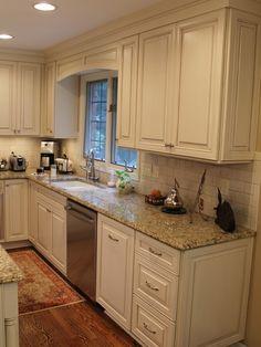 Kitchen Ideas On Pinterest Giallo Ornamental Granite
