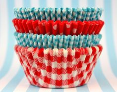 Summer cupcake liners