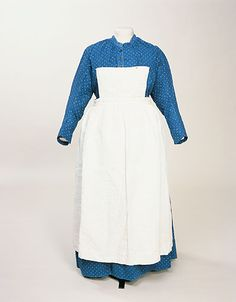 Maid's dress, 1870s.