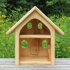 Small Wooden Dollhouse, handmade in Maine $120.95