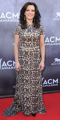 ACM Awards 2014 Red Carpet Arrivals - MARTINA MCBRIDE from #InStyle