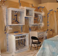 How to paint your kitchen cabinets {professionally}. Step by step that's easy to follow.