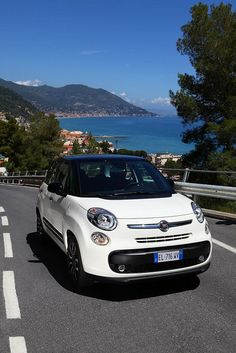 Fiat 500L on the road!