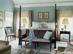 Green-Blue Master Bedroom