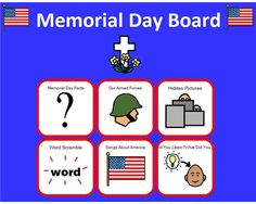 memorial day classroom decorations
