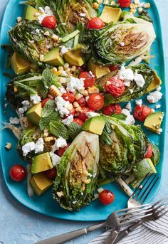 Grilled Summer Cobb Salad